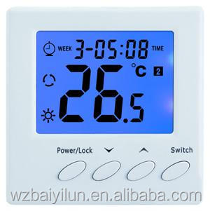 LCD display room smart digital electric thermostat