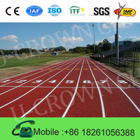 Sport Surface for Running Prefabricated Track Athletic Synthetic rubber track IAAF Sport Flooring Track for Sport