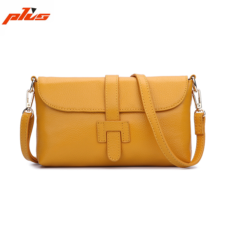 Ginger Yellow Genuine Leather Handbag/Cross Body Bag, Guangzhou Leather Factory Replica Bags Handbag