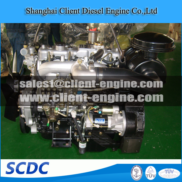 Vehicle Car, Heavy Truck,Tractor, Marine 4 Cylinder 4JB1T DIESEL ENGINE