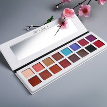 2017 multi colored custom private label eyeshadow palette 16 colors available eyeshadow for women makeup