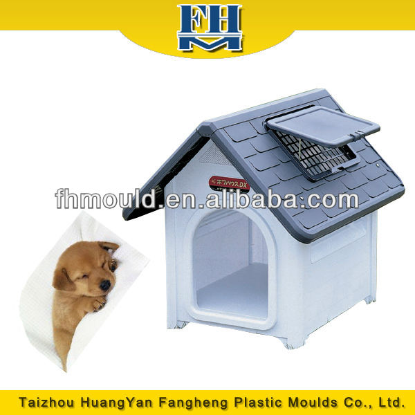luxurious plastic cat house dog cage pet house mould