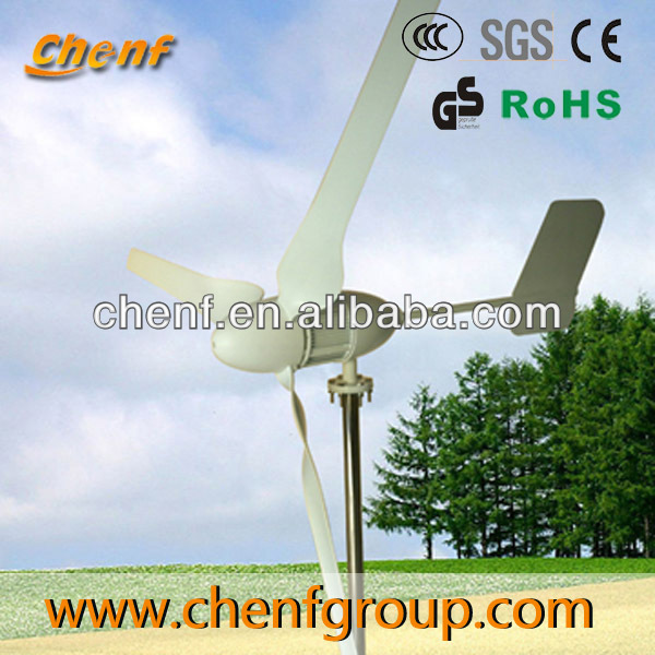Hot sale wind power turbine generator WS-WT400 400W 300W VAWT wind turbine CE approved