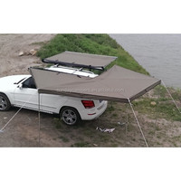 Outdoor Sports CE Canvas awning/Car roof top tent for 2-4 persons