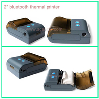 Android mini 58mm Bluetooth thermal printer with RS232 portable bluetooth printer