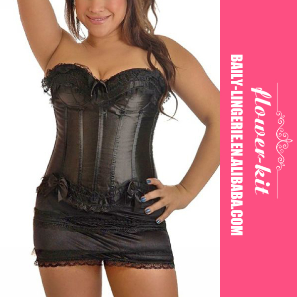 Top quality women waist training corset plus size waist training sexy corset