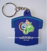 PVC Key Chain For Germany