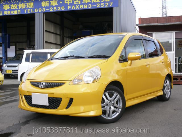 use HONDA FIT 2007 right hand steering from Japan