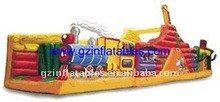 Qing Ling popular children inflatable park 2012