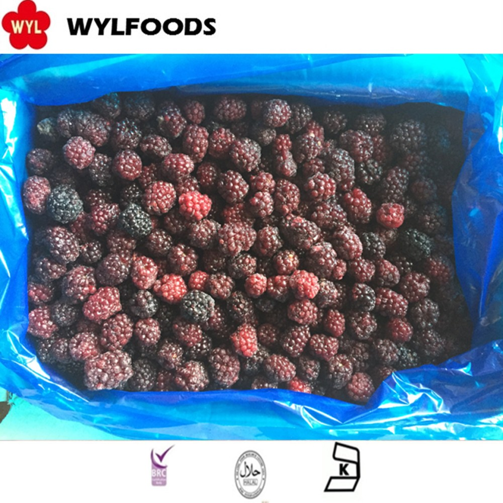 2016 china new crop frozen iqf Blackberry with best price
