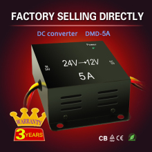 Newest design high quality dc-dc 24v to 12v 5A bw manufacturers power converter media