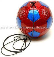 Kick Back PU Quality Patent Red & Blue Size 4 Soccer Ball
