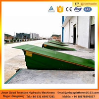 good quality warehouse used car ramp stationary dock leveler dock ramps for sale low price