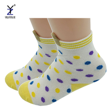 custom made fashion cartoon animal sex girls/boys combed cotton socks