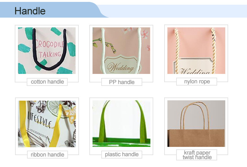 Eco recycle grocery custom logo foldable tote luxury paper branded hand bags