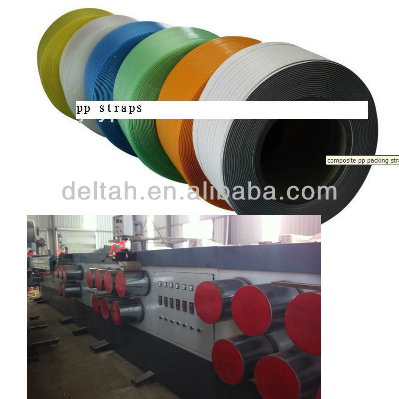 PP strapping making machine line for packing