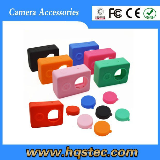 wholesale silicone case xiaomi yi for action camera xiaomi yi.