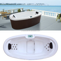 Outdoor Free Sex USA Massage Bath Heater Hot Tub Made in China (HA-M3360)