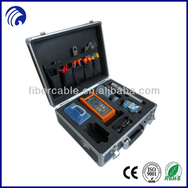 Supply FTTH fiber optic tools kit with laptop style