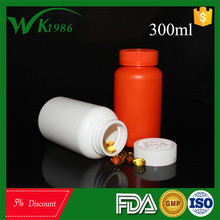 High Quality Plastic Pill Bottles Red with Lid