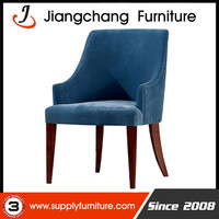 New Style Metal Frame Upholstery Dining Chair JC-FM80