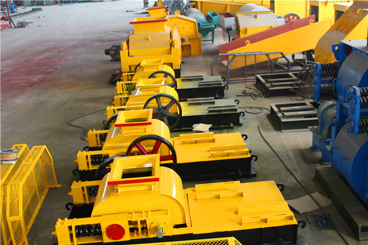 HSM ISO CE Design Coal Mine Double Roll Crusher For Sale