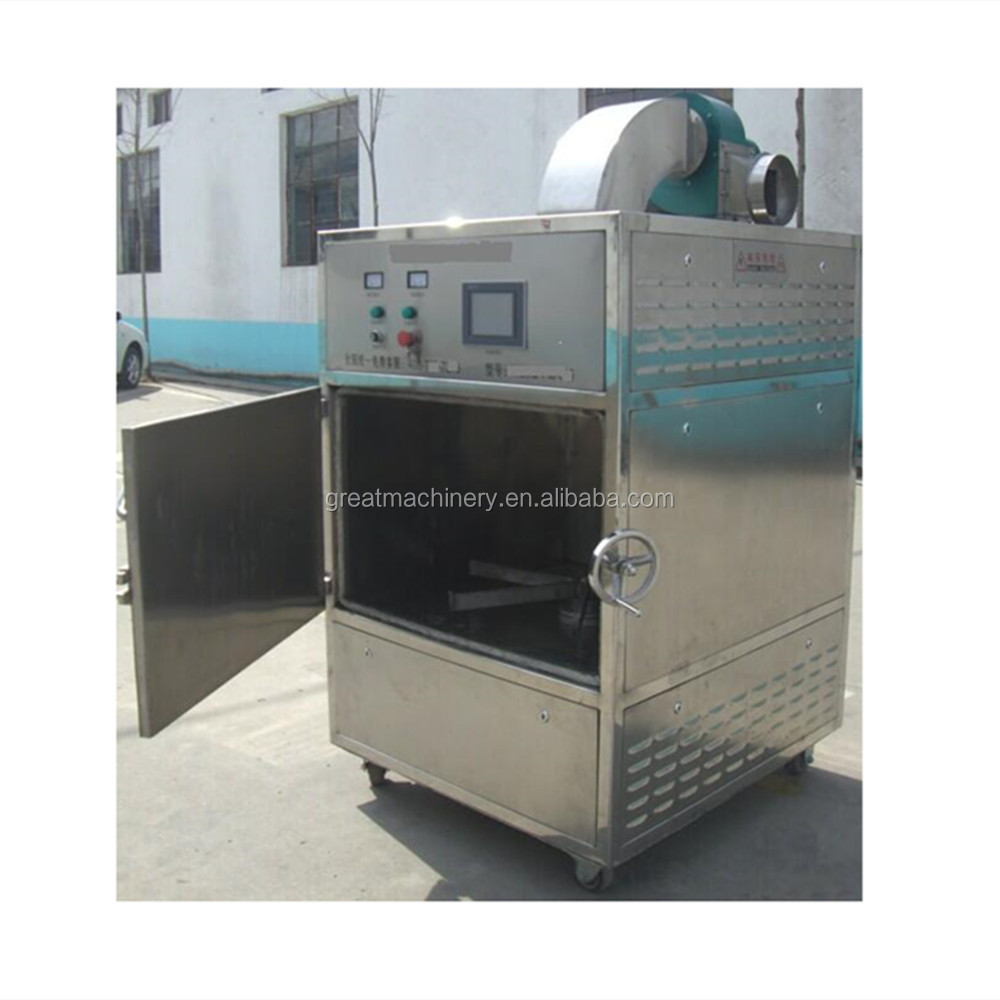 Stainless steel microwave drying machine/box type dryer oven for flour weevil