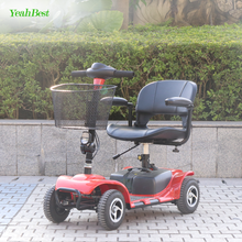 Chinese Manufacturer Automatic Electric Scooter CE Approved 500W 24V Mobility Scooter 4 Wheel For Disabled Elderly