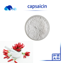 Natural Hot Pepper Extract Chilli Extract Capsaicin Capsicum capsaicine powder for sale