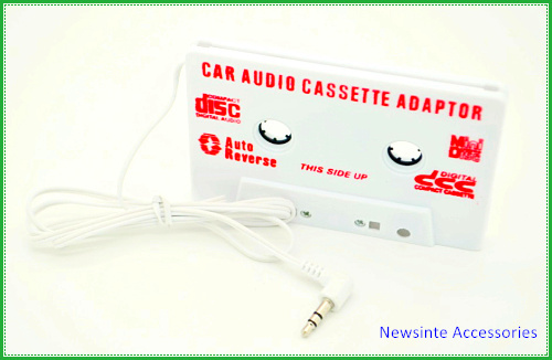 Universal Stereo Car Audio Cassette Adapter, tape used in Car