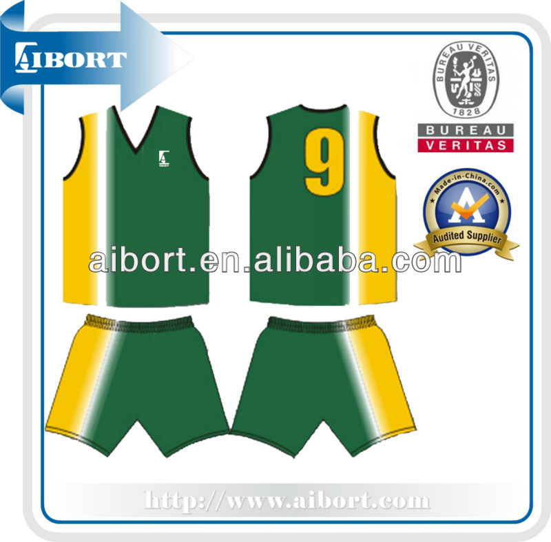 SUBBS-288 custom made basketball jersey/uniform