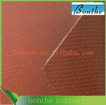 0.22mm red silicone coated fiberglass cloth