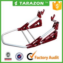 TARAZON Brand aluminum alloy universal adjustable motorcycle rear paddock stand for street bike