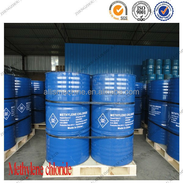 CAS: 75-09-2 teach grade dichloromethane for plasticizer