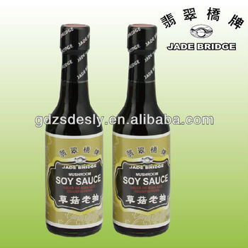 Asian foods Chinese traditional Mushroom soy sauce