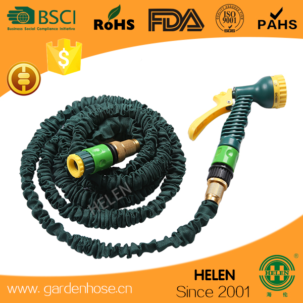 Good Quality 2017 Expand Magic Hose Magic Hose with Plastic Hose Nozzle Set, Best Price/Quality, Packing in Color or Plastic Box