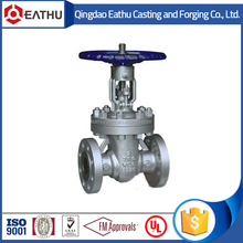 API 6D cast steel non-rising stem gate valve