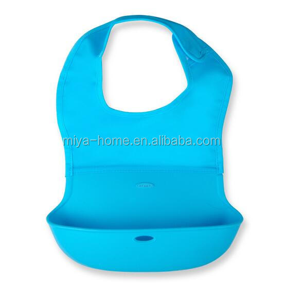 High quality food grade silicone baby bib for kids / Soft Kids Silicone Baby Bibs Silicone Rubber Baby Bibs