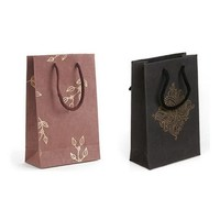 Wholesale custom cheap design luxury kraft paper shopping bag