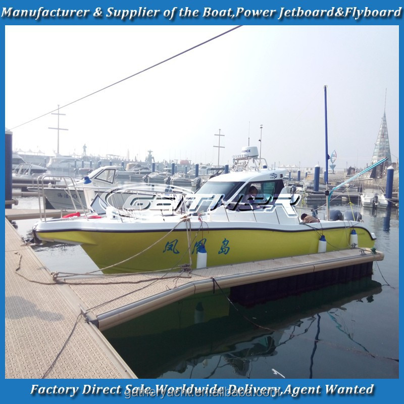 Gather 9.7m new designed fishing boat for sale