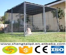 chain link hot dipped galvanized large dog kennel for sale portable dog runs