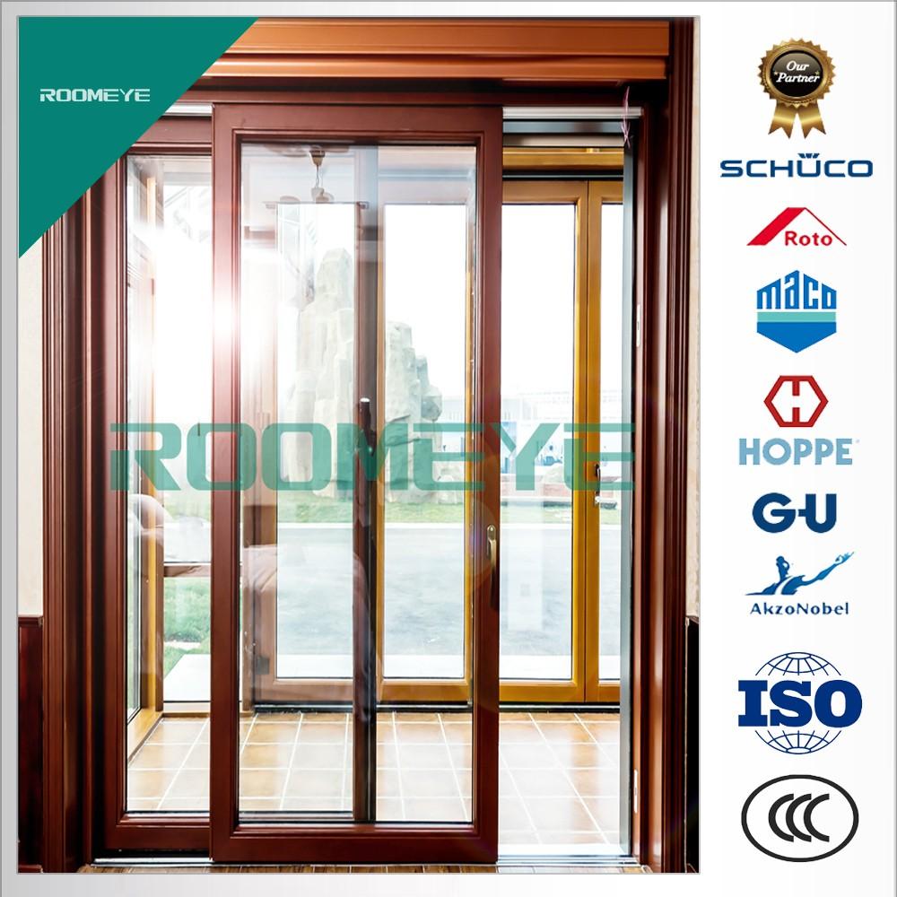 Insulated Luxury Aluminium Wood Doors Wholesale Doors Suppliers