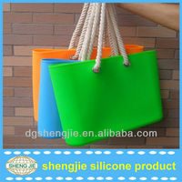Bulk 2013 new arrival hot silicone beach bags