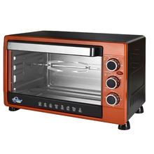 Counter-top home baking toaster electric oven with convection and rotisserie home used oven