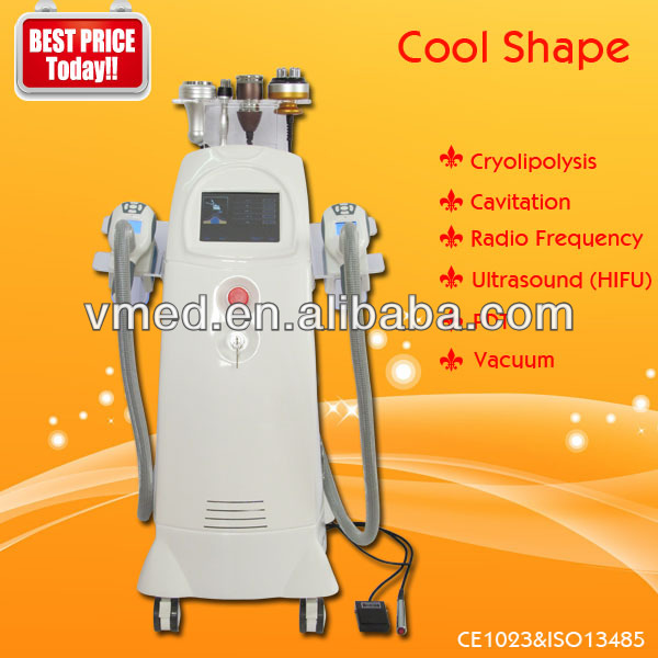 ultrasonic body contouring system with led