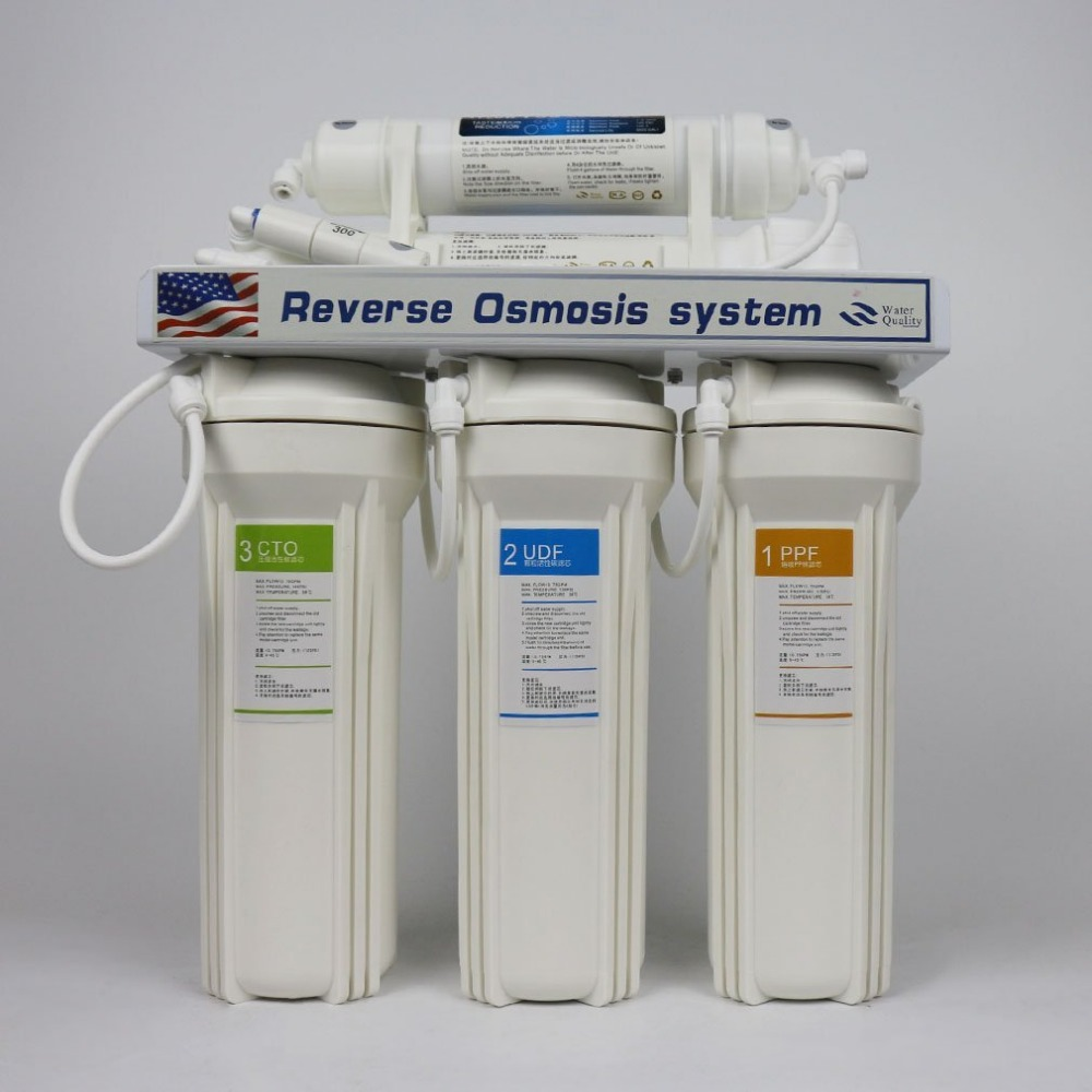 Best Quality 5 Stage ro water treatment plant with 5 to 10 stage DIY ro water filter system welcome OEM or SKD