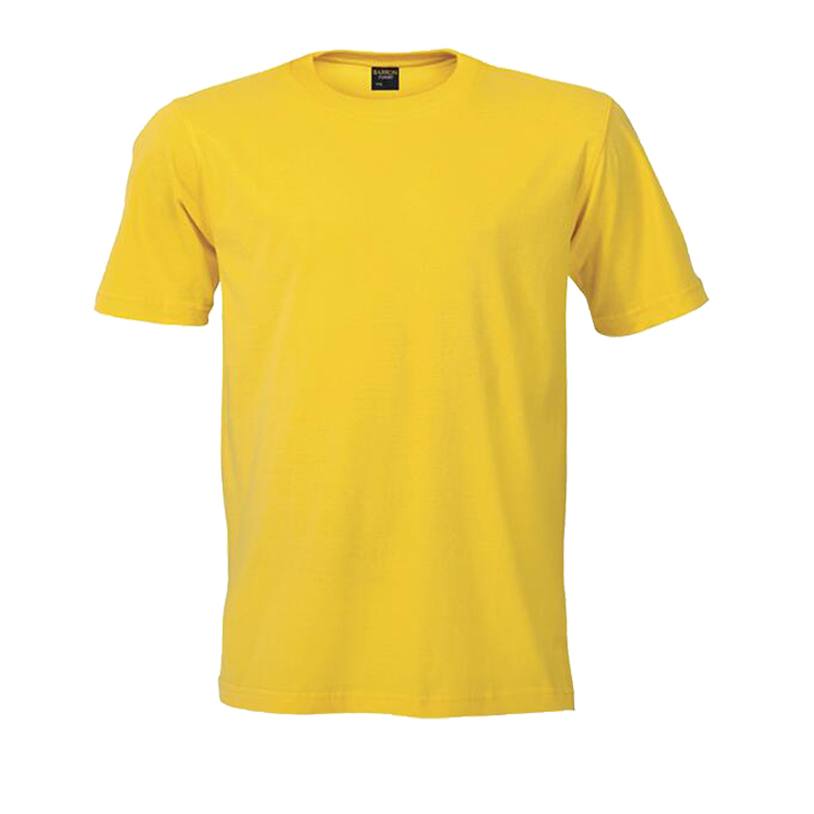 Guangzhou Factory Supply OEM Type Short Sleeve 180G Cotton T Shirt Crew Collar Blank Design T Shirts