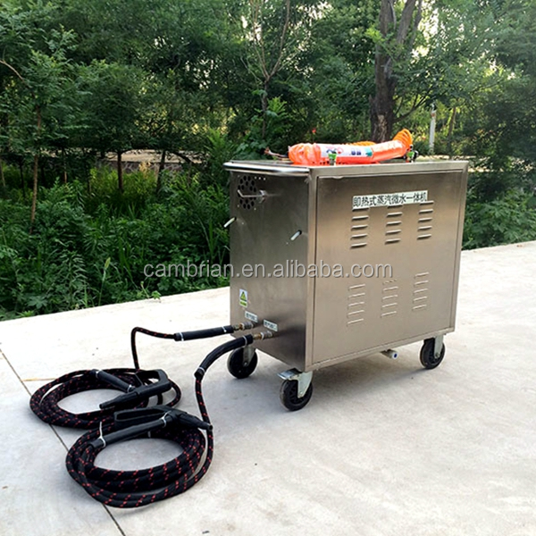 Stainless steel steam jet car wash machine with electric lpg with best price