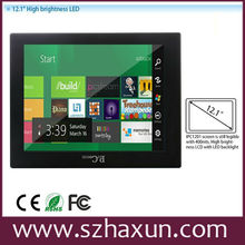 12.1, 15,17,19inch all in one computer, Fanless all in one pc touchscreen,RS485/RS422 Touch PC,Window7,WIFI Support