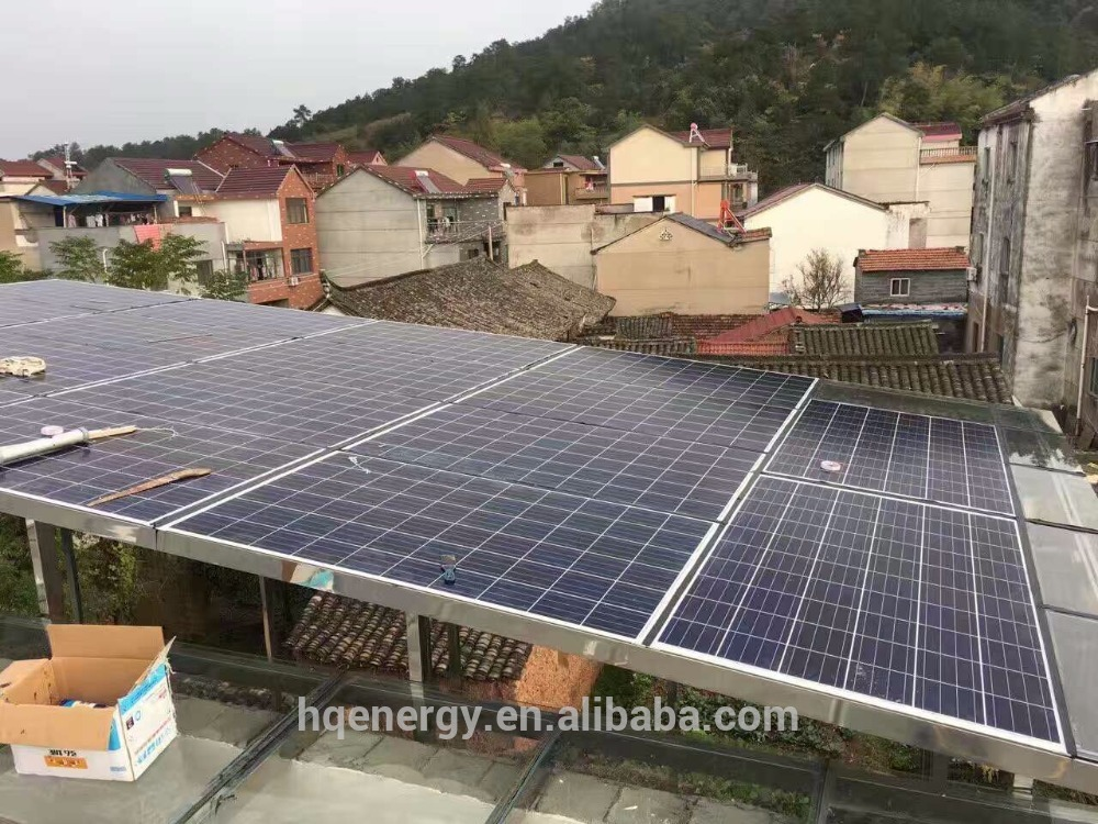 3000w solar panel 12 pcs 250w poly whole house solar power system 3kw with best quality and low price